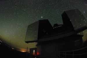 The Magellan telescopes at Las Campanas Observatory in Chile. Credit: Kathryn Neugent